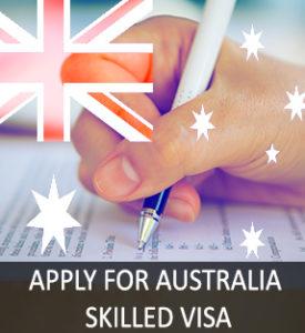 Apply for Australia Skilled Visa(Subclass189)