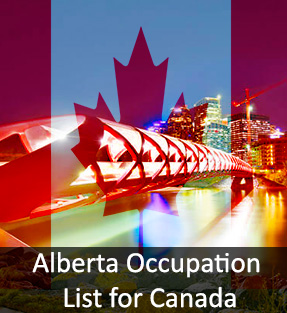 Alberta Occupation List for Canada