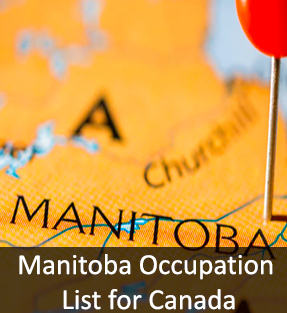 Manitoba Occupation List for Canada